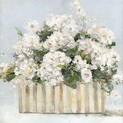 Pretty Pale Floral Wall Art