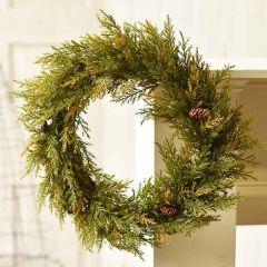 Prickly Pine Decorative Wreath