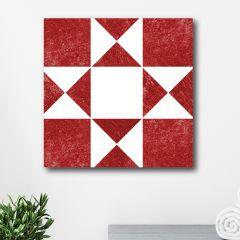 Quilt Pattern Wall Art, Barn Quilt