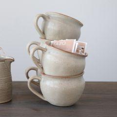 Reactive Glaze Matte Stoneware Mug Bundle