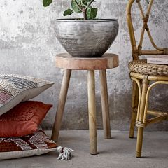 Reclaimed Wood Primitive Accent Stool