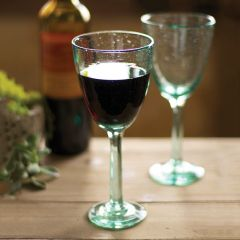 Recycled Wine Glasses Set of 6