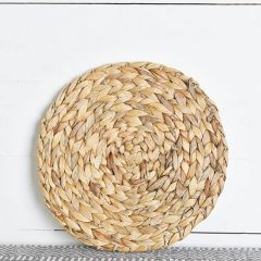Round Woven Water Hyacinth Placemat Set of 4