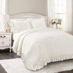 Ruffled Reyna Comforter Set