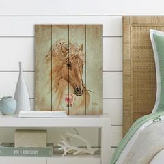 Run For The Rose Wood Pallet Wall Art