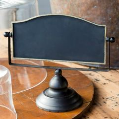 Rustic Chalkboard Sign On Stand