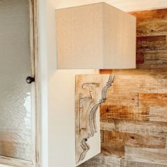 Rustic Corbel Sconce Lamp