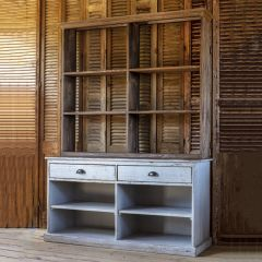Rustic Sideboard With Shelves