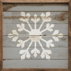 Rustic Snowflake Wall Art