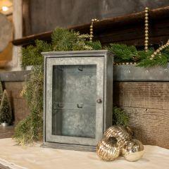 Rustic Wall Mount Key Cupboard