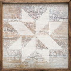 Rustic Wood Quilt Square