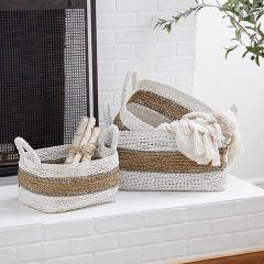 Seagrass String Basket Set of 3