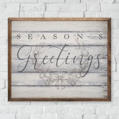 Seasons Greetings Wall Sign