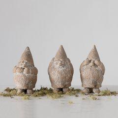 See Speak Hear No Evil Gnome Figures Set of 3