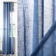Semi Sheer Grommet Curtain Panel