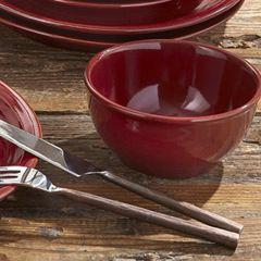 Simple Ceramic Ribbed Cereal Bowl Bundle