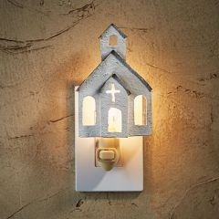 Simple Church House Night Light