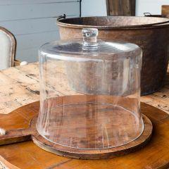Simple Glass Cloche, 12 Inch