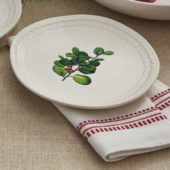 Simple Holiday Mistletoe Plate Bundle