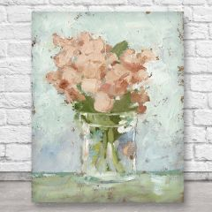 Simple Vase And Flowers Wall Art