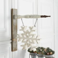Snowflake Arrow Sign Replacement
