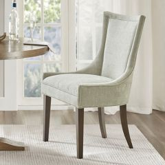 Sophisticated Elegance Upholstered Dining Chair Set of 2
