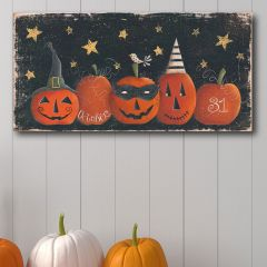 Spooky Pumpkins Wall Art