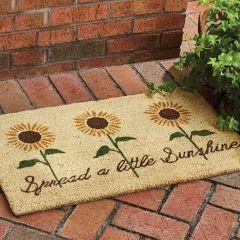 Spread Sunshine Sunflowers Doormat