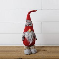 Squatty Snow Lodge Gnome Figure