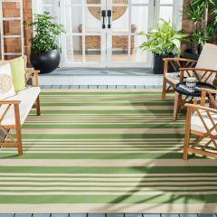 Striped Indoor/Outdoor Rug