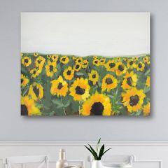 Sunflower Field Canvas Wall Art