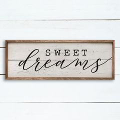 Sweet Dreams Cottage Wall Sign