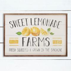 Sweet Lemonade Farms Framed Sign