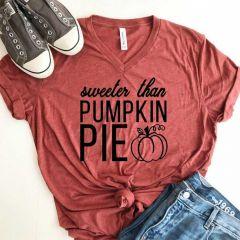 Sweeter Than Pumpkin Pie Tee Shirt