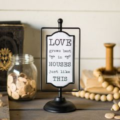 Tabletop LOVE Sign
