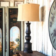 Tall Pillar Table Lamp