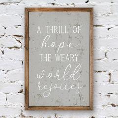 Thrill of Hope Wall Art