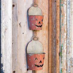 tin-pumpkin-wall-pockets-set-of-2