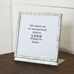 Tin Tabletop Frame