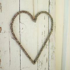 Tiny Bells Heart Wall Hanging