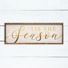 Tis The Season Framed Sign