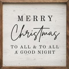 To All A Good Night Wall Art