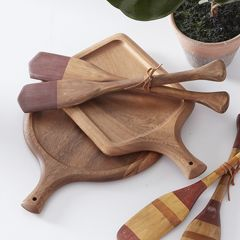 Traditional Carved Cutting Board Set of 2