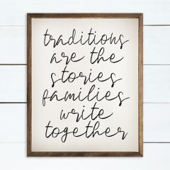 Traditions Wall Art