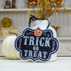 Trick or Treat Hanging Sign