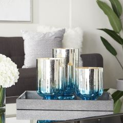 True Ombre Candle Holder Set of 3