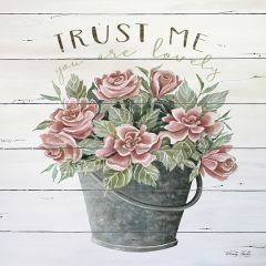 Trust Me Floral Wall Art