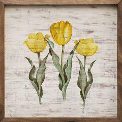 Tulip Trio Wall Art
