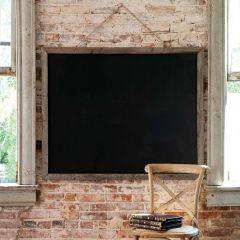 """Two Sided School House Chalkboard, 49"""" x 39"""""""