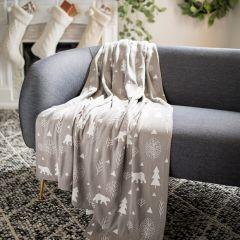 Ultra Cozy Wintertime Throw Blanket